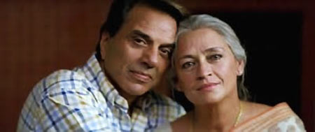 Dharmendra and Nafisa Ali in Life in a...Metro