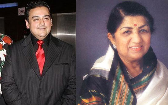 Adnan Sami, Lata Mageshkar