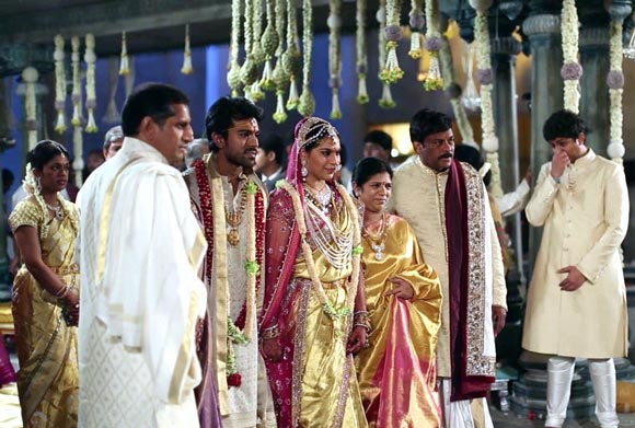 Ram Charan Teja and Upasana
