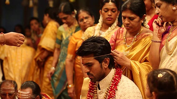 Ram Charan Teja and his mother Surekha