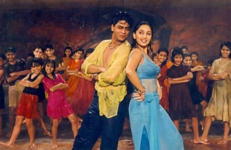 Shah Rukh Khan and Madhuri Dixit in Dil To Pagal Hai