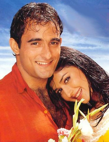 Akshaye Khanna and Sonali Bendre in Dahek