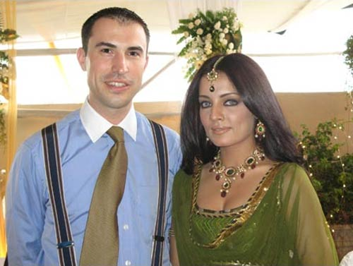 Peter Haag and Celina Jaitley