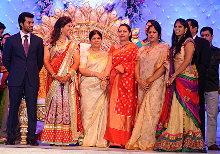 Ram Charan, Upasana, Vasundhara, Surekha