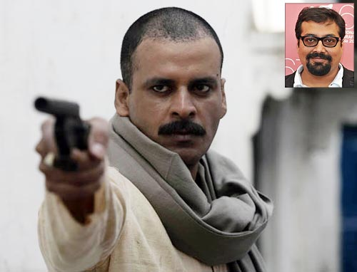 A scene from Gangs of Wasseypur. Inset: Anurag Kashyap