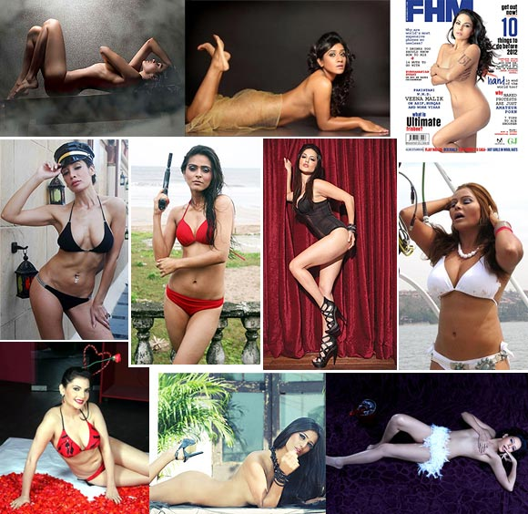 Sherlyn, Poonam; The Sexiest Strip Queen? VOTE!