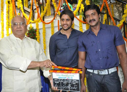 Naga Chaitanya and Sunil