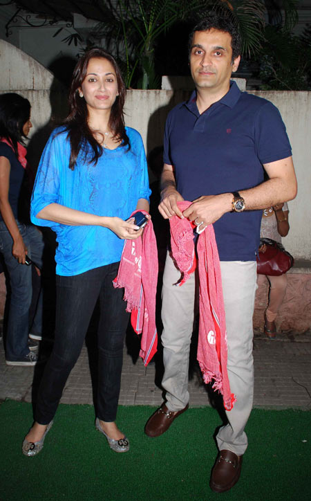 Gayatri Joshi and Vikas Oberoi