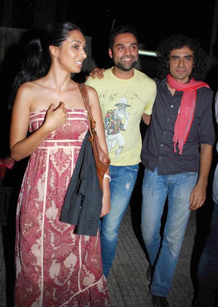 Preeti Desai, Abhay Deol and Imtial Ali