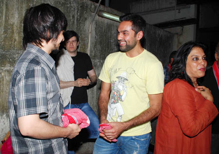 Abhay Deol and Mira Nair