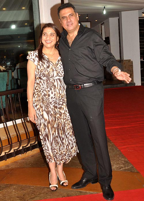 Boman and Zenobia Irani
