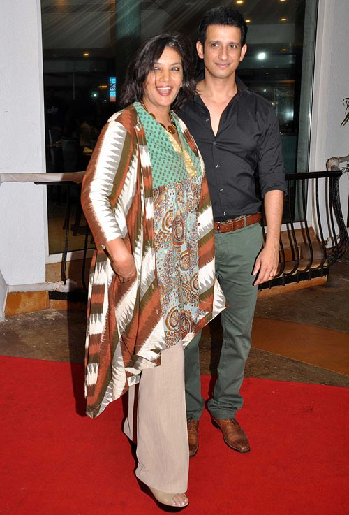 Shabana Azmi and Sharman Joshi