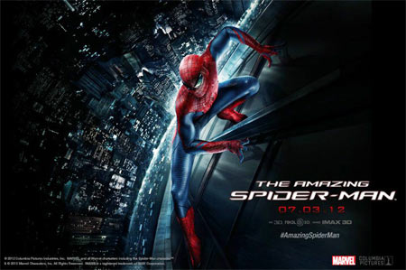 Movie poster of The Amazing Spider-Man
