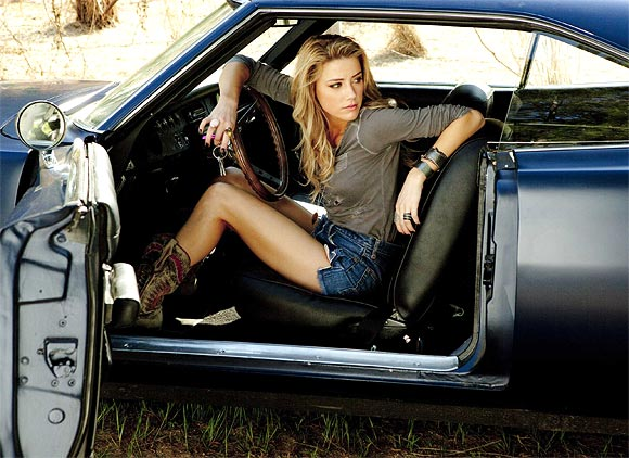 Amber Heard in Drive Angry