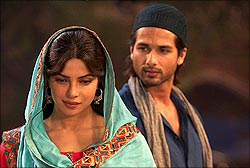 A scene from Teri Meri Kahaani