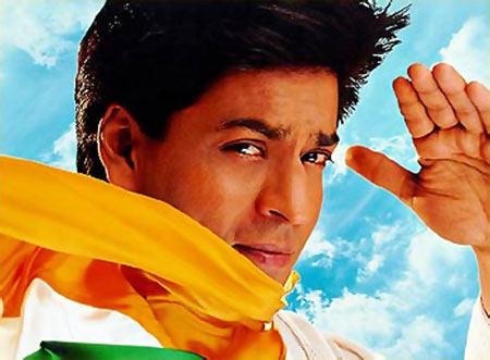 Shah Rukh Khan in Phir bhi dil hai Hindustani