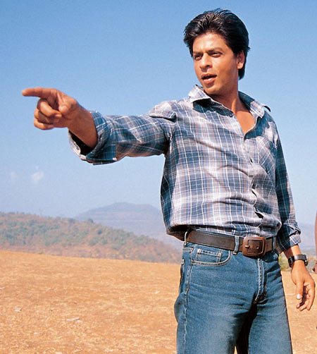 Shah Rukh Khan in Swades