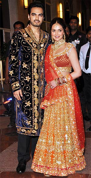 Esha Deol and Bhaart Takhtani