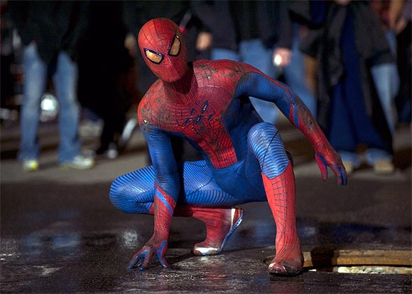 A scene from The Amazing Spider-Man
