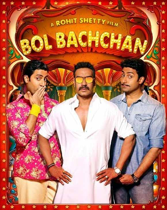 Movie poster of Bol Bachchan