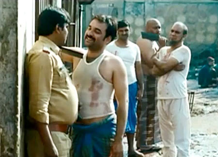 A still from Gangs of Wasseypur which had traces of Tarantino's style of filmmaking
