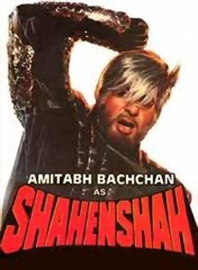 Amitabh Bachchan in Shehenshah
