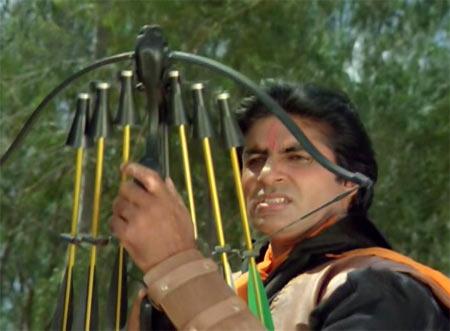 Amitabh Bachchan in Toofan