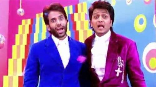 Tusshar Kapoor and Riteish Deshmukh