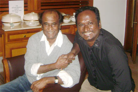 Rajanikanth with Madhan Mathew