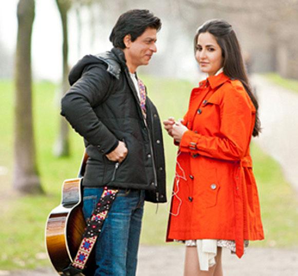 Katrina Kaif with Shah Rukh Khan in the untitled Yashraj film