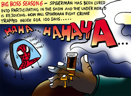 Spider Boss, Spider Boss!