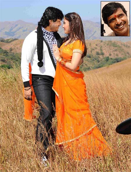 A scene from Munjaane. Inset: Director S Narayan