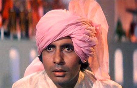 Amitabh Bachchan in Namak Halal