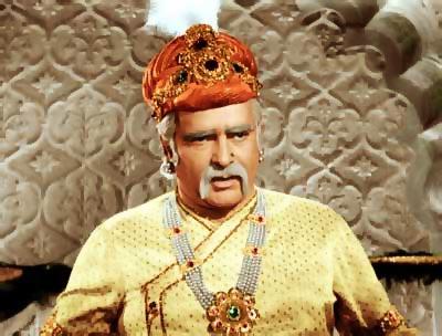 Prithviraj Kapoor in Mughl-e-Azam