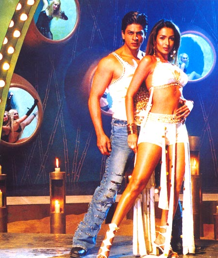 Shah Rukh Khan and Malaika Arora Khan in Kaal