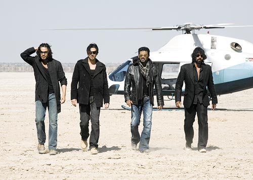 Viveik Oberoi, Zayed Khan, Suneil Shetty and Shabbir Ahluwalia