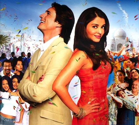 Martin Henderson and Aishwarya Rai Bachchan