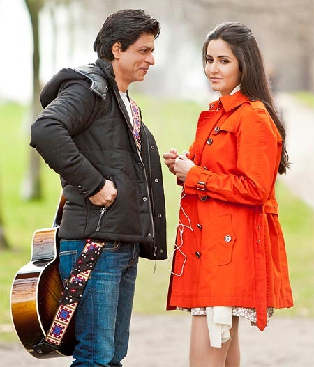 Shah Rukh Khan and Katrina Kaif in the untitled film