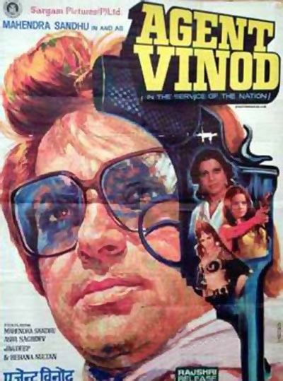 Movie poster of the original Agent Vinod