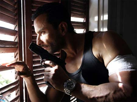 A scene from Agent Vinod