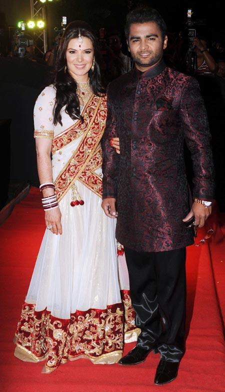 Urvashi Sharma and Sachin Joshi