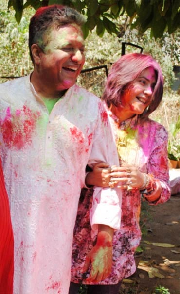 Ekta Kapoor and Sanjay Gupta