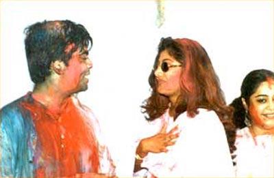 Karan Johar, Shilpa Shetty and Kirron Kher