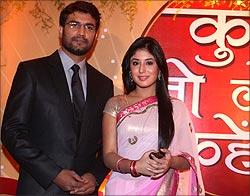 Sharad Kelkar and Krithika Kamra