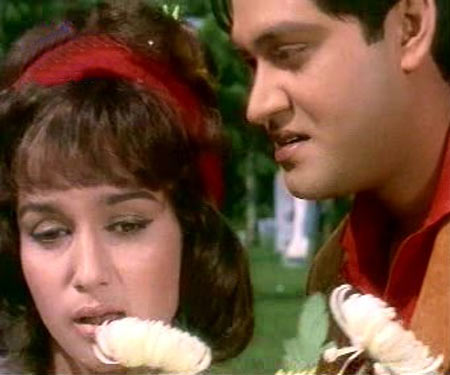 Asha Parekh and Joy Mukherjee in Love in Tokyo
