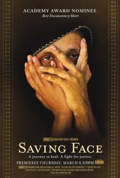 Movie poster of Saving Face