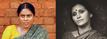 Saranya Ponvannan and Mitalee Jagtap Varadkar
