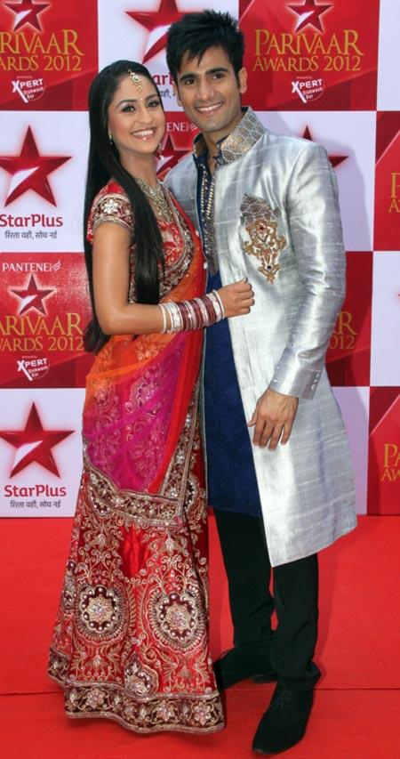 Krystal D'Souza and Karan Mehra