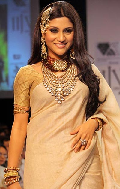 Konkona Sen Sharma, India International Jewellery Week