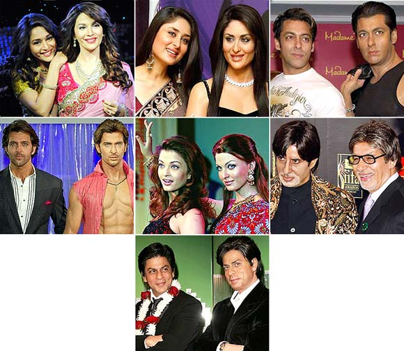 VOTE! Bollywood's best Madame Tussauds statue
